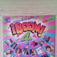 Discos de vinilo: BOOM 4 - 2 LP. Lote 139120610