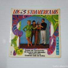 Discos de vinilo: LOS 3 TRES SUDAMERICANOS. PULPA DE TAMARINDO. EL FUNERAL DEL LABRADOR. GIBRALTAREÑA... TDKDS11. Lote 139128594