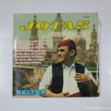 Discos de vinilo: LORENZO NAVASCUES Y RONDALLA BRETON. - LO QUE A MIS PADRES YO QUIERO. JOTAS. SINGLE. TDKDS11. Lote 139129334