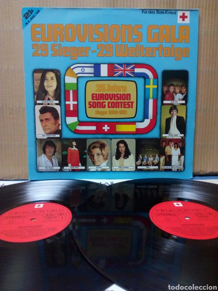 EUROVISION GALA - 1956 - 1981 WINNERS 2XLP GER GATEFOLD (Música - Discos - LP Vinilo - Festival de Eurovisión)