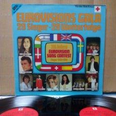 Discos de vinilo: EUROVISION GALA - 1956 - 1981 WINNERS 2XLP GER GATEFOLD. Lote 139144204