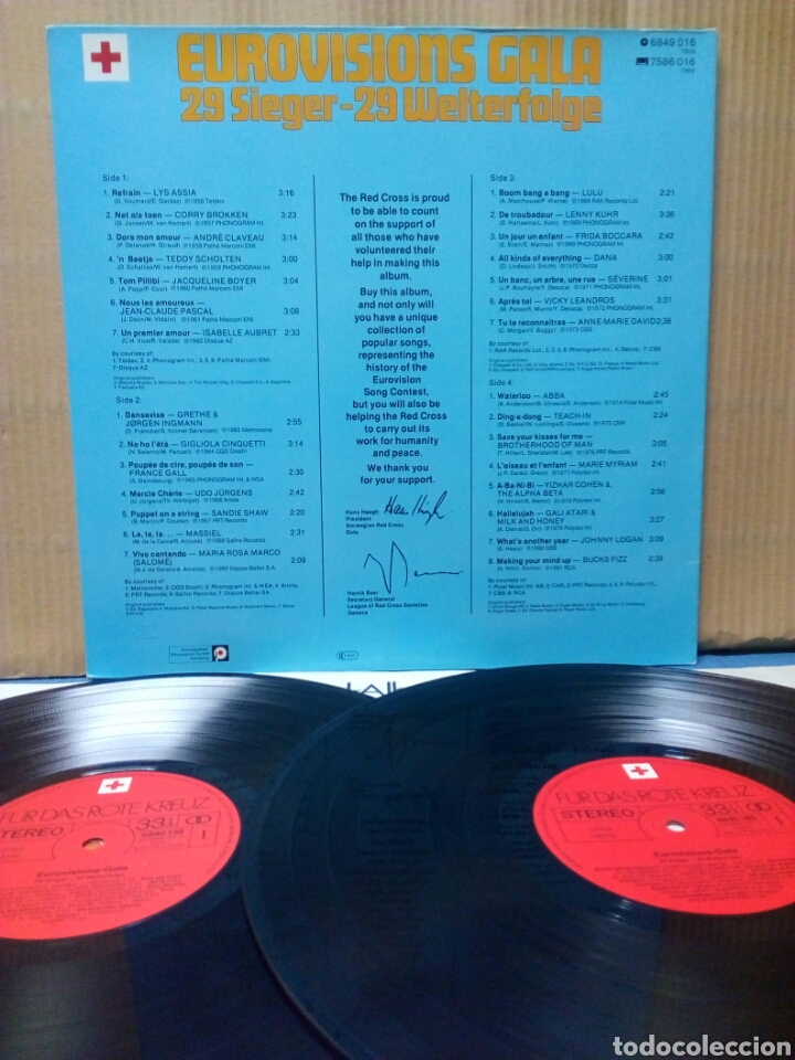Discos de vinilo: Eurovision Gala - 1956 - 1981 Winners 2xLP GER Gatefold - Foto 2 - 139144204