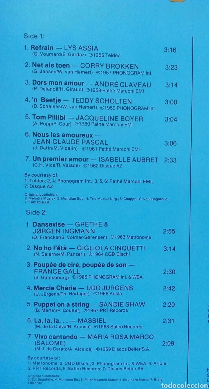 Discos de vinilo: Eurovision Gala - 1956 - 1981 Winners 2xLP GER Gatefold - Foto 4 - 139144204