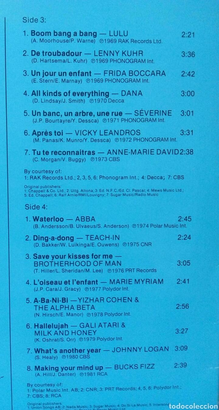 Discos de vinilo: Eurovision Gala - 1956 - 1981 Winners 2xLP GER Gatefold - Foto 5 - 139144204
