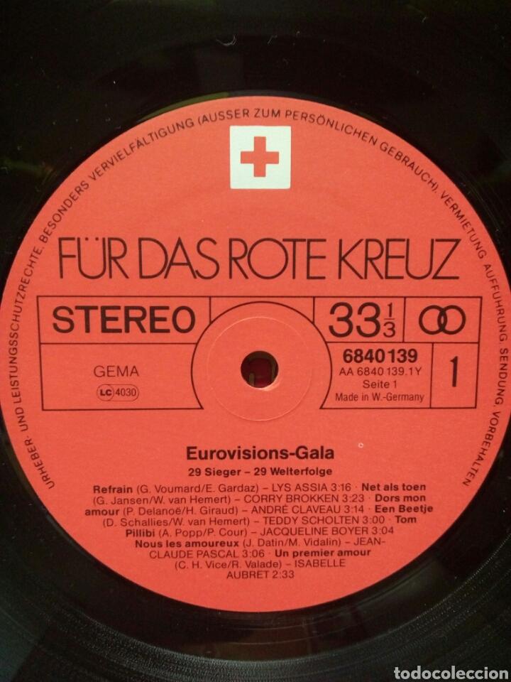 Discos de vinilo: Eurovision Gala - 1956 - 1981 Winners 2xLP GER Gatefold - Foto 6 - 139144204