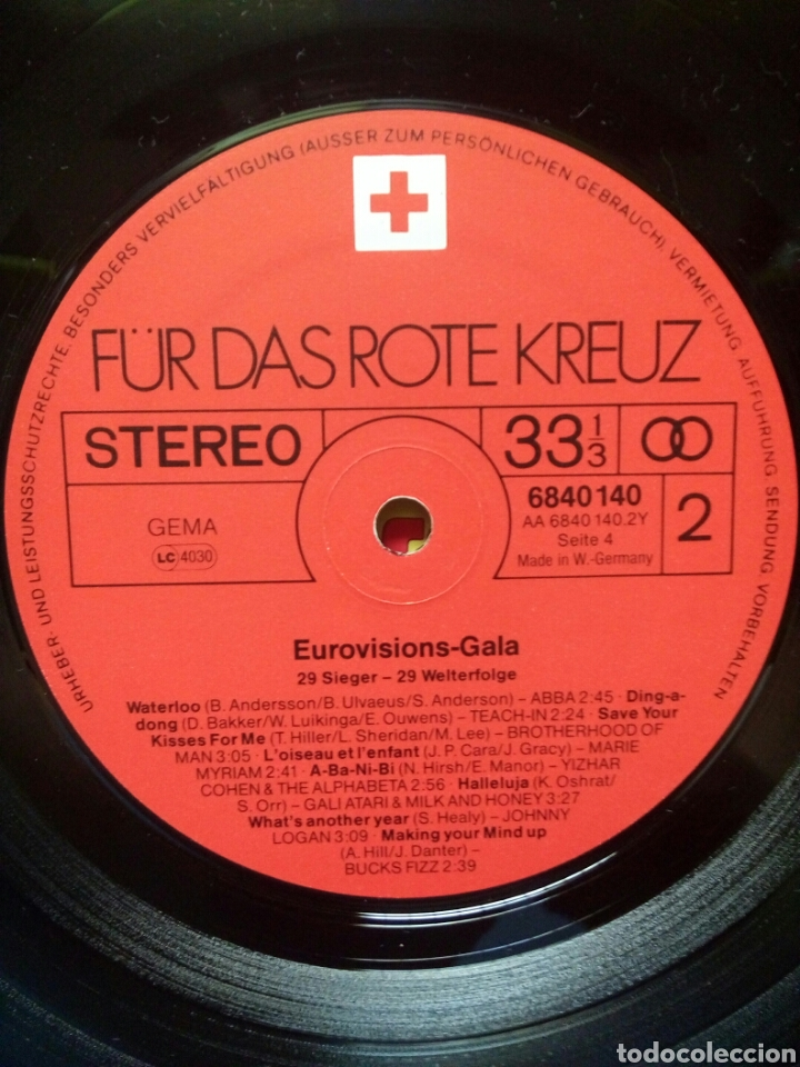 Discos de vinilo: Eurovision Gala - 1956 - 1981 Winners 2xLP GER Gatefold - Foto 9 - 139144204