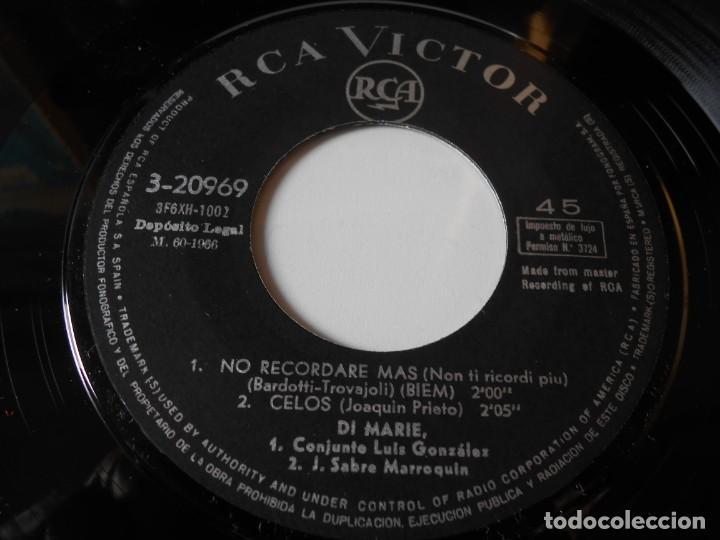 Discos de vinilo: DI MARIE, EP, IL MOMENTO GIUSTO (EL MOMENTO JUSTO) + 3, AÑO 1966 - Foto 4 - 139146746