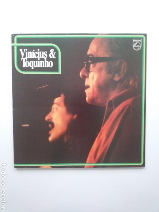 VINICIUS & TOQUINHO.LP.PHILIPS.1974. (Música - Discos - LP Vinilo - Grupos y Solistas de latinoamérica)