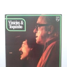 Discos de vinilo: VINICIUS & TOQUINHO.LP.PHILIPS.1974.. Lote 139171877