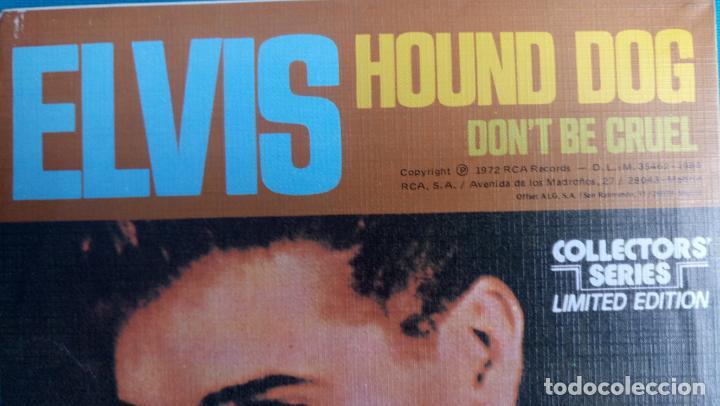 Discos de vinilo: ELVIS PRESLEY - HOUND DOG / DON'T BE CRUEL - SINGLE - EDITADO EN ESPAÑA 1984.LIMITED EDITION - Foto 3 - 139176210