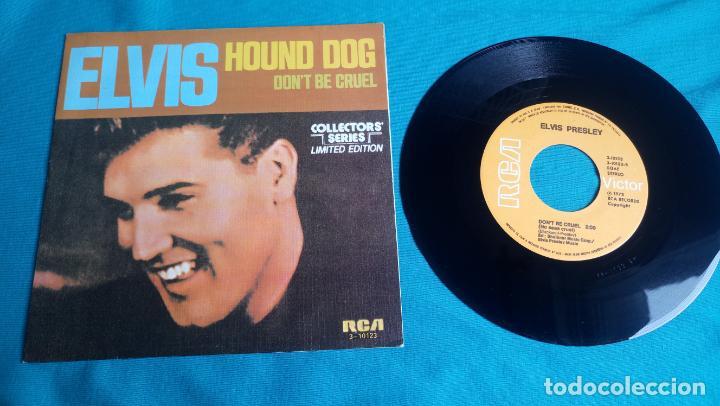 Discos de vinilo: ELVIS PRESLEY - HOUND DOG / DON'T BE CRUEL - SINGLE - EDITADO EN ESPAÑA 1984.LIMITED EDITION - Foto 4 - 139176210