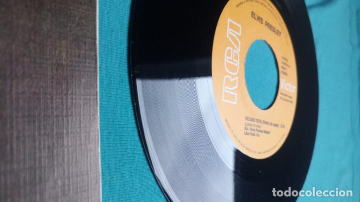 Discos de vinilo: ELVIS PRESLEY - HOUND DOG / DON'T BE CRUEL - SINGLE - EDITADO EN ESPAÑA 1984.LIMITED EDITION - Foto 10 - 139176210