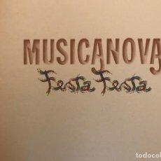 Discos de vinilo: MUSICANOVA ?– FESTA FESTA SELLO: FONIT CETRA ?– LPX 96 FORMATO: VINYL, ALBUM, LP PAÍS: ITALY . Lote 139180098