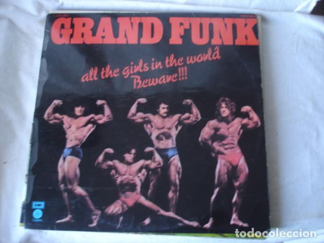 GRAND FUNK ALL THE GIRLS IN THE WORLD BEWARE !!! (Música - Discos - LP Vinilo - Pop - Rock - Extranjero de los 70)