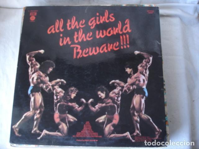Discos de vinilo: Grand Funk All The Girls In The World Beware !!! - Foto 2 - 139182914
