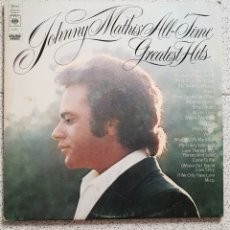 Discos de vinilo: DOBLE LP JOHNNY MATHIS ALL TIME GREATEST HITS. Lote 139191624