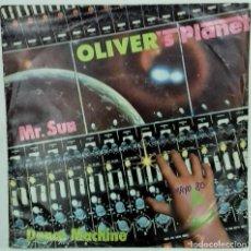 Discos de vinilo: OLIVER'S PLANET- MR. SUN / DANCE MACHINE - SG- ED. ESPAÑOLA- 1979. Lote 139193498