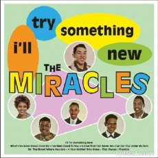 Discos de vinilo: THE MIRACLES - I'LL TRY SOMETHING NEW MIRACLES. Lote 139193910