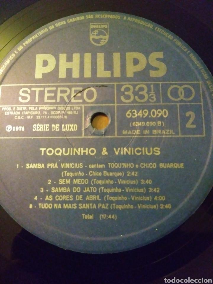 Discos de vinilo: Vinicius & Toquinho.Lp.Philips.1974. - Foto 7 - 139171877