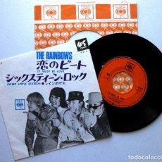 Discos de vinilo: THE RAINBOWS - IT MUST BE LOVE - SINGLE CBS 1967 JAPAN (EDICIÓN JAPONESA) BEAT BPY. Lote 139195478