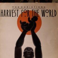 Discos de vinilo: THE CHRISTIANS-HARVEST FOR THE WORLD. Lote 139207236