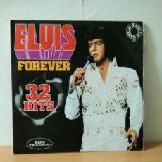 Discos de vinilo: ELVIS FOREVER 32 HITS 1975. Lote 139209138