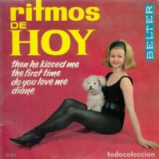 Discos de vinilo: FRANK BACON JOANNA BELL TONY STEVEN THE LAYABOUTS - EP ESPAÑOL DE VINILO. Lote 139229286