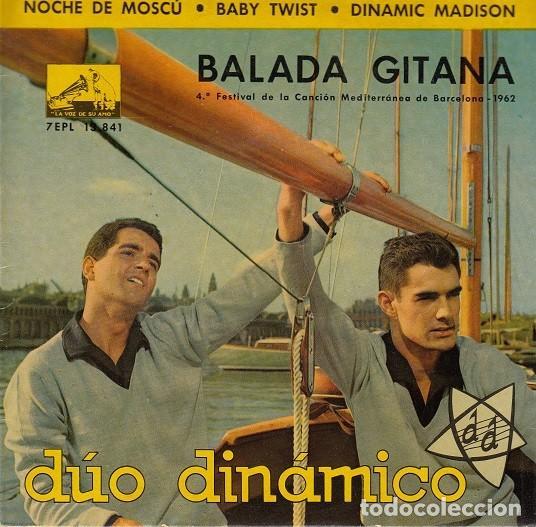 DUO DINAMICO - BALADA GITANA - EP DE VINILO (Música - Discos de Vinilo - EPs - Grupos Españoles 50 y 60)