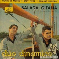 Discos de vinilo: DUO DINAMICO - BALADA GITANA - EP DE VINILO. Lote 139230222
