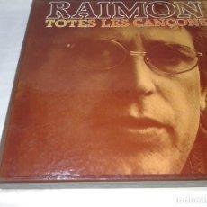 Discos de vinilo: RAIMON, TOTES LES CANÇONS 10 LPS. Lote 139245642