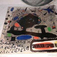 Discos de vinilo: RAIMON / SALVADOR ESPRIU 1966. Lote 139246138