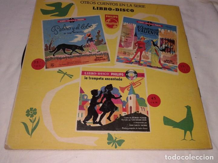 Discos de vinilo: PICCOLO, SAXO Y COMPAÑIA, LIBRO DISCO PHILIPS, 1958 - Foto 3 - 139246822