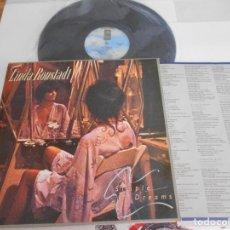 Discos de vinilo: LINDA RONSTADT-LP SIMPLE DREAMS-ENCARTE LETRAS-ESPAÑOL 1977. Lote 139266302