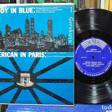 Discos de vinilo: RHAPSODY IN BLUE / AN AMERICAN IN PARIS. GERSHWIN. REF. MMS-149. LP 10''. Lote 139272482