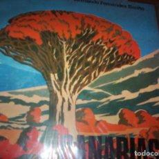 Discos de vinilo: CANARIAS - SONORAMA REGIONAL DE ESPAÑA - ED. SALVATELLA - 2 DISCOS - 45 RPM- EDUCATIVOS Y LIBRETO. Lote 139284846