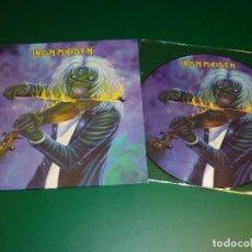 Discos de vinilo: IRON MAIDEN MAIDEN DENMARK PICTURE DISC 10 PULGADAS EDICION LIMITADA Y NUMERADA. Lote 151886424