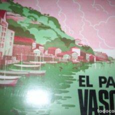 Discos de vinilo: SONORAMA REGIONAL DE ESPAÑA - EL PAIS VASCO - 2 DISCOS DE PLASTICO - 45 RPM - Y LIBRETO EDUCATIVO. Lote 139286698