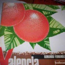 Discos de vinilo: SONORAMA REGIONAL DE ESPAÑA - VALENCIA - 2 DISCOS - 45 RPM - Y LIBRETO EDUCATIVO. Lote 139287582