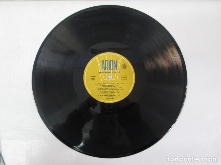 Discos de vinilo: CANTATA PARA UN HOMBRE LIBRE CON EL CORO DE LA SORBONA DE PARIS. LOS CALCHAKIS. LP VINILO - Foto 5 - 139297490