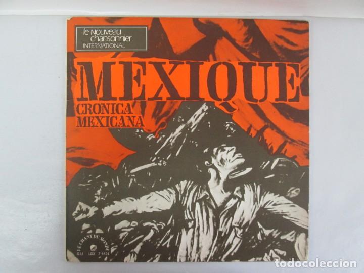 Discos de vinilo: MEXIQUE. CRONICA MEXICANA. LE CHANT DU MONDE. JUDITH REYES. LP VINILO. VER FOTOGRAFIAS - Foto 2 - 139297970