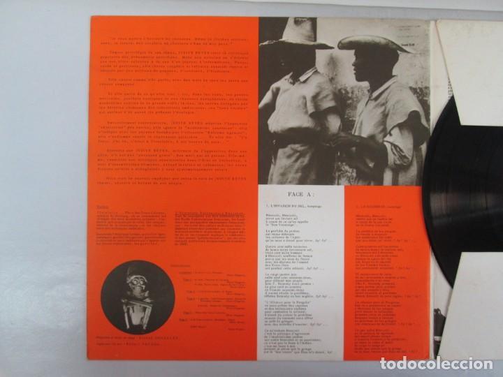 Discos de vinilo: MEXIQUE. CRONICA MEXICANA. LE CHANT DU MONDE. JUDITH REYES. LP VINILO. VER FOTOGRAFIAS - Foto 3 - 139297970