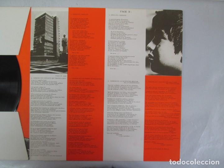 Discos de vinilo: MEXIQUE. CRONICA MEXICANA. LE CHANT DU MONDE. JUDITH REYES. LP VINILO. VER FOTOGRAFIAS - Foto 4 - 139297970