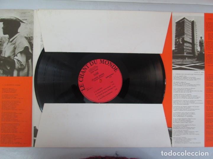 Discos de vinilo: MEXIQUE. CRONICA MEXICANA. LE CHANT DU MONDE. JUDITH REYES. LP VINILO. VER FOTOGRAFIAS - Foto 5 - 139297970