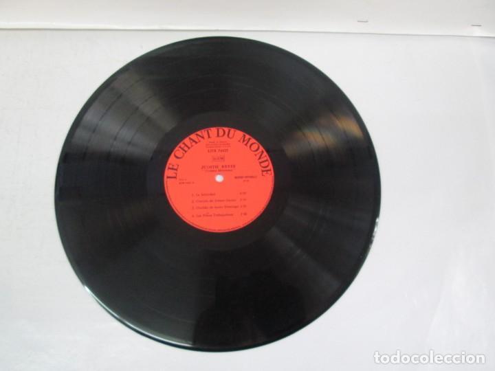 Discos de vinilo: MEXIQUE. CRONICA MEXICANA. LE CHANT DU MONDE. JUDITH REYES. LP VINILO. VER FOTOGRAFIAS - Foto 6 - 139297970
