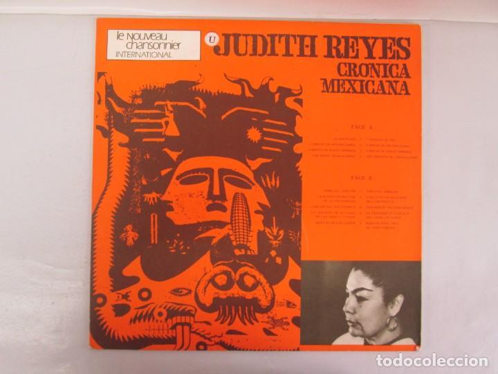 Discos de vinilo: MEXIQUE. CRONICA MEXICANA. LE CHANT DU MONDE. JUDITH REYES. LP VINILO. VER FOTOGRAFIAS - Foto 10 - 139297970