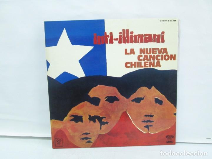 Discos de vinilo: VIVA CHILE! LA NUEVA CANCION CHILENA. INTI-ILLIMANI. 2 LP VIILO. VER FOTOGRAFIAS ADJUNTAS - Foto 2 - 139298266