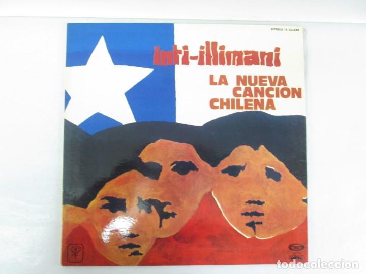 Discos de vinilo: VIVA CHILE! LA NUEVA CANCION CHILENA. INTI-ILLIMANI. 2 LP VIILO. VER FOTOGRAFIAS ADJUNTAS - Foto 3 - 139298266