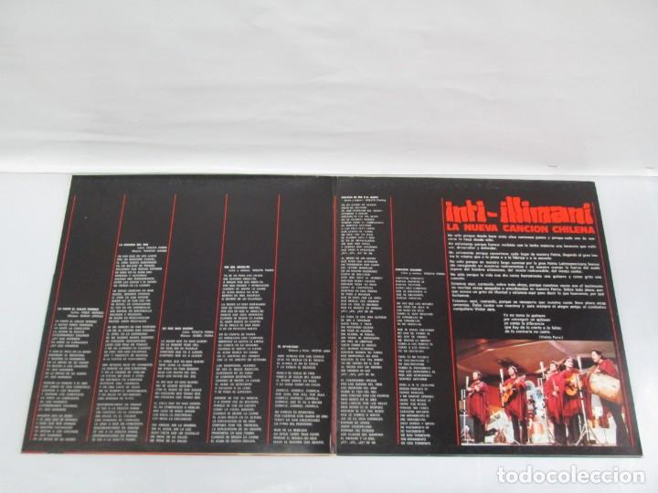 Discos de vinilo: VIVA CHILE! LA NUEVA CANCION CHILENA. INTI-ILLIMANI. 2 LP VIILO. VER FOTOGRAFIAS ADJUNTAS - Foto 7 - 139298266
