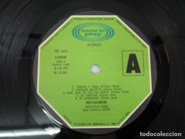 Discos de vinilo: VIVA CHILE! LA NUEVA CANCION CHILENA. INTI-ILLIMANI. 2 LP VIILO. VER FOTOGRAFIAS ADJUNTAS - Foto 9 - 139298266