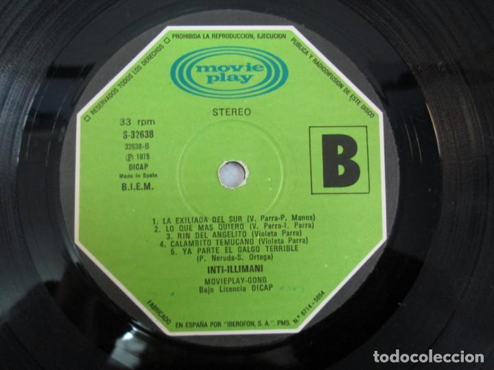 Discos de vinilo: VIVA CHILE! LA NUEVA CANCION CHILENA. INTI-ILLIMANI. 2 LP VIILO. VER FOTOGRAFIAS ADJUNTAS - Foto 11 - 139298266